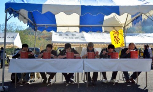 奥鬼怒・川俣温泉「新そば祭2012」は1年でたった1日だけ