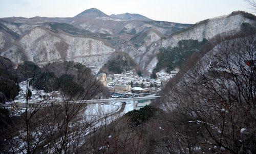 ややマニア向け。栗山からの帰り道、一瞬だけ見られるナイス雪風景