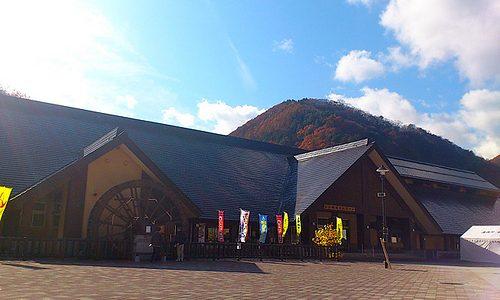 湯西川温泉 観光センター「湯西川 水の郷」おみやげ・食事・温泉OK