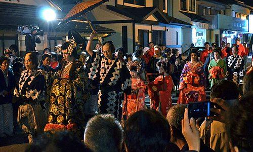 【湯西川温泉 平家大祭2012レポ】せつなく美しい前夜祭