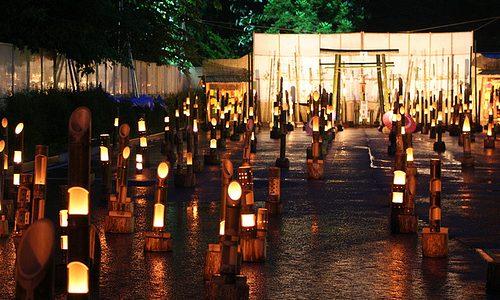 いよいよ今週末から !「かわあかり」でさらに進化した竹の宵まつり 湯西川温泉