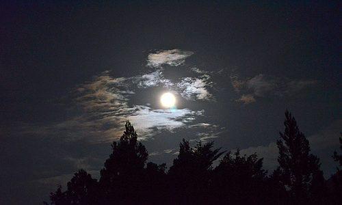 観光本にはのらない、栗山の夏の夜景 黒部ダム
