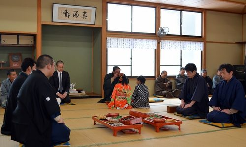 毎年変わらず行われます。栗山を代表する民俗芸能 川俣地区 二十日祭