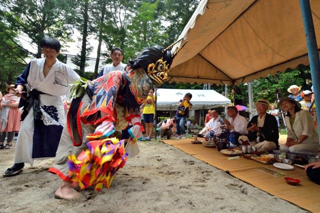 140816 yunishigawa shishimai 39