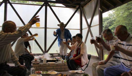 「栗そば会」の夏。下野新聞で紹介されました