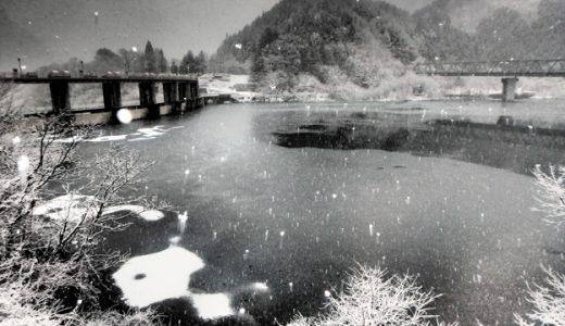 冬の絶景!栗山周辺の雪ダム6選。まるで水墨画 かまくら祭と一緒にどうぞ