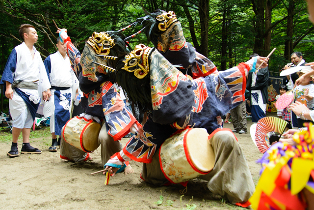 アクセル全開!1ヶ月間で全9地区!栗山獅子舞カレンダー2015
