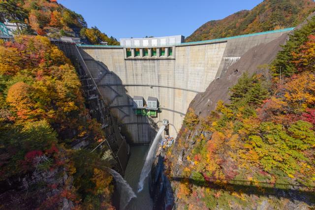 川俣ダム(紅葉)