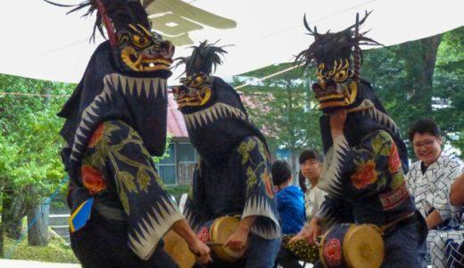 「これが俺達の祭りだ!」大歓声に包まれる日向地区の獅子舞2015