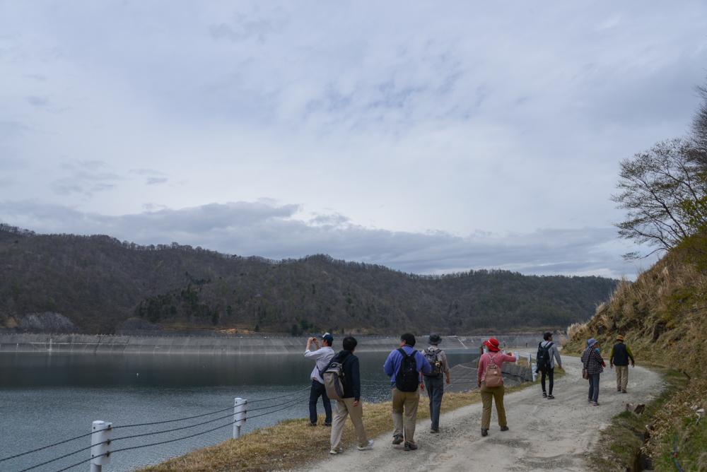 栗山ダムからの景色