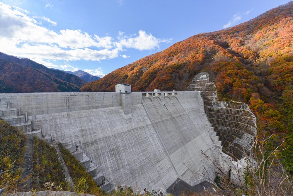 湯西川温泉 湯西川ダム