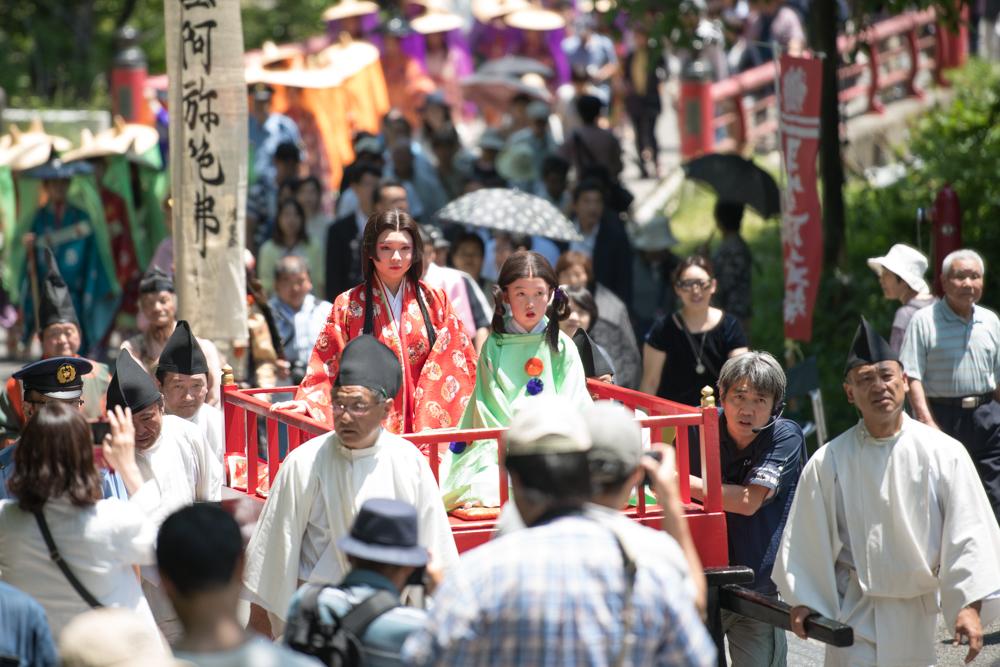 湯西川温泉 平家大祭 「平家絵巻行列」