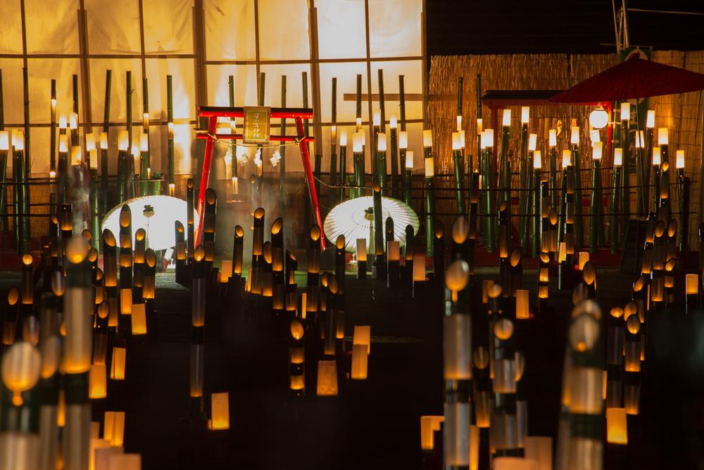 湯西川温泉 竹の宵まつり