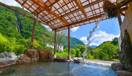 【黒部温泉 四季の湯】開放感!日帰りで露天風呂ならココ。敷地内から出る温泉がドバッと掛け流し