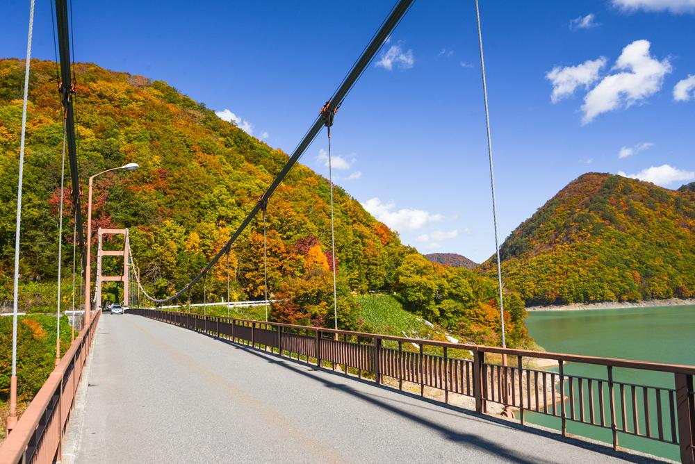 川俣大橋(紅葉)