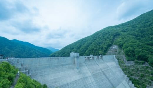 【湯西川ダム】本質に迫るシンプルモダン。2012年誕生のニューダム